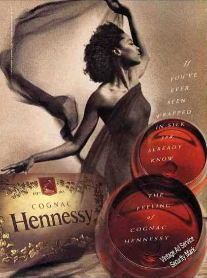 """Hennessy Cognac """"Wrapped In Silk"""" (1993)"""