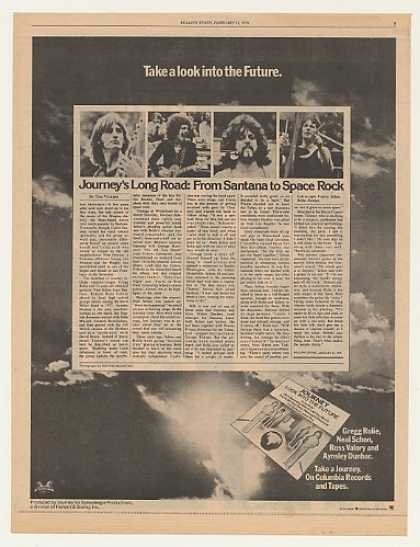 Journey Look Into The Future Columbia (1976)