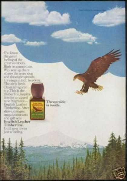 Eagle English Leather Timberline Cologne (1968)