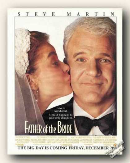 Steve Martin Father of the Bride Movie Advert (1991)