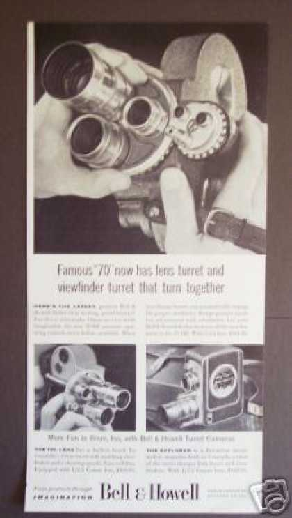 Bell & Howell 70-dr Movie Camera Photo (1956)