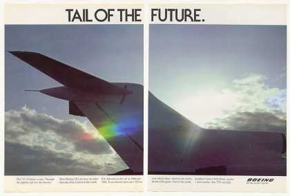 Boeing 727 Tail of the Future Photo 2-Page (1977)