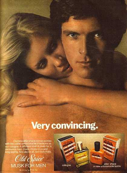 Old Spice's Musk for men (1977)