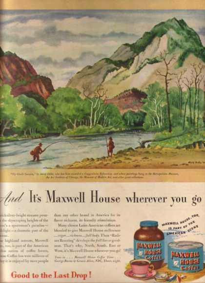 Maxwell House's Up Chalk Canyon (1946)