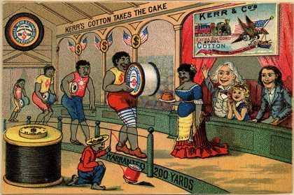 Kerr and Co.'s Kerr's Cotton Thread – Kerr's Cotton Takes the Cake
