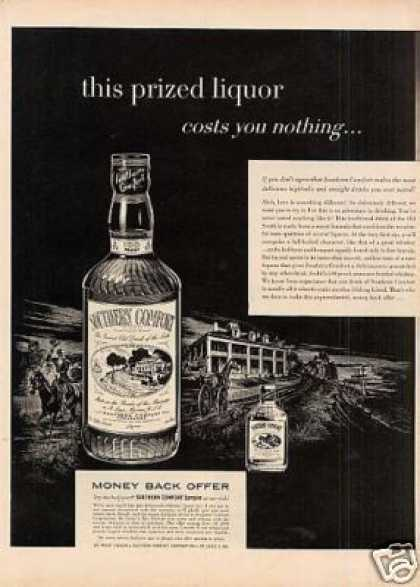 Southern Comfort Whiskey (1954)