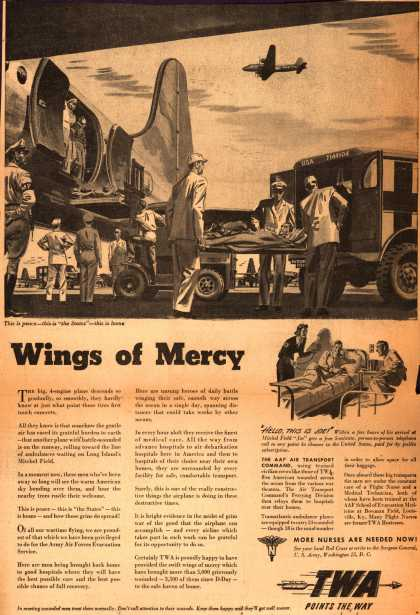 Trans World Airline's TWA-AAF Air Transport Command Support – Wings of Mercy (1944)
