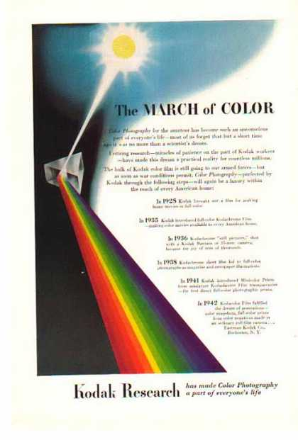 Kodak Research – The March of Color (1945)
