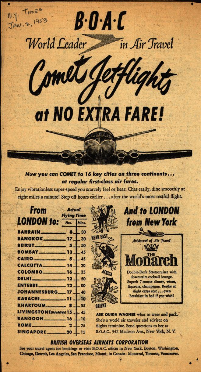 Vintage Travel and Tourism Ads of the 1950s (Page 72)