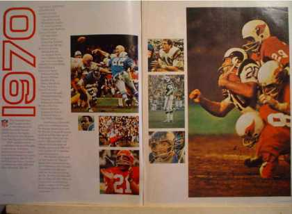 NFL Football Schedule ad & 28 pg book (1970)