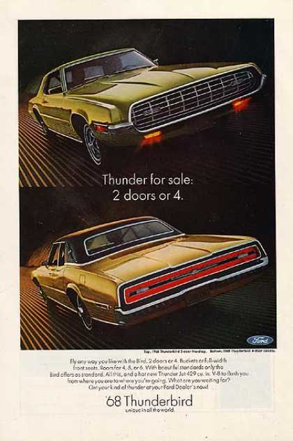 Ford's T-Bird (1968)