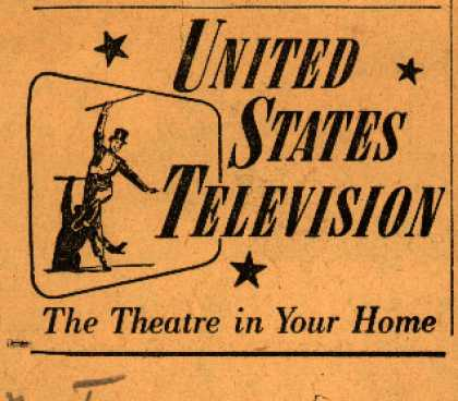 United States Television's Television – United States Television The Theatre in Your Home (1947)