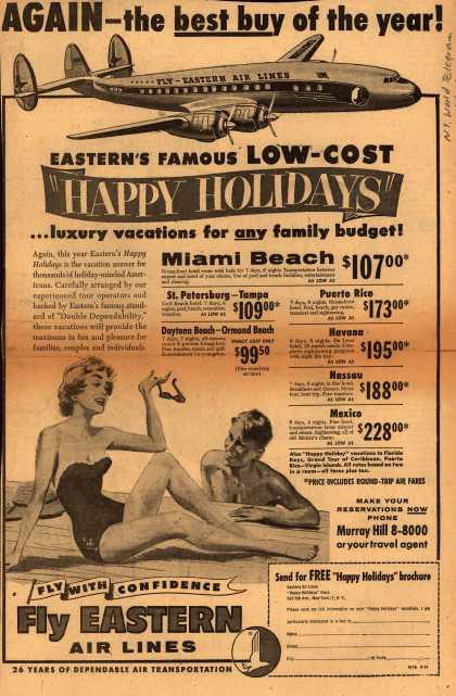 Eastern Air Lines – Again – The Best Buy of the Year (1954)
