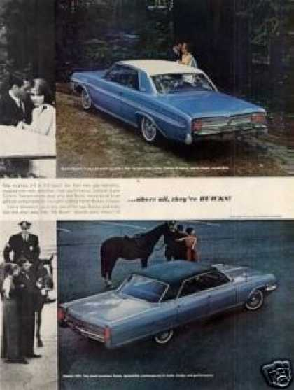 Buick Cars Ad 4 Page (1964)