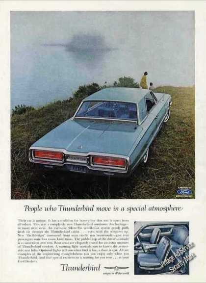 """Ford Thunderbird """"Special Atmosphere"""" (1963)"""