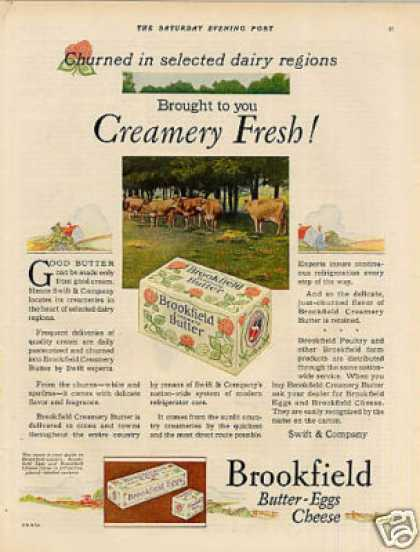 Swift's Brookfield Butter Color (1927)