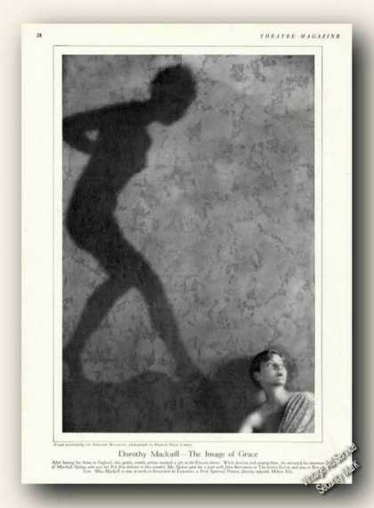 Dorothy Mackaill Picture Magazine Print Feature (1928)