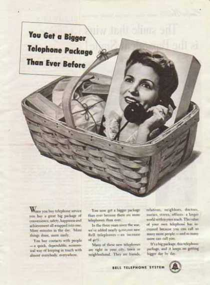 Bell Telephone System – Bigger Telephone Package (1948)