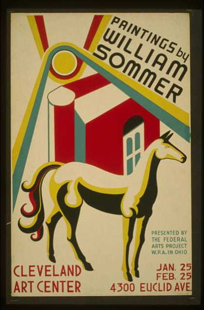 Paintings by William Sommer. (1938)