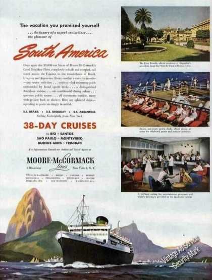 Moore-mccormack To South America Photos (1948)