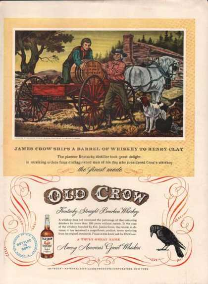 Old Crow Great Whiskies (1949)