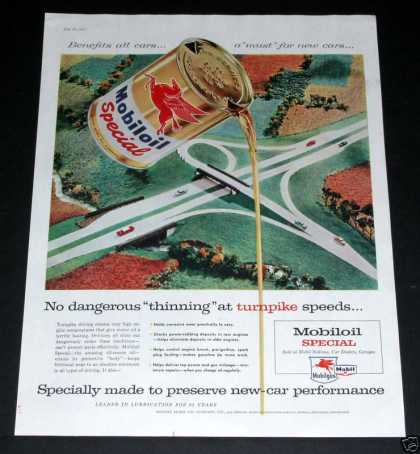Old , Mobiloil Special, Turnpike (1957)