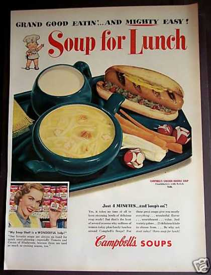 Campbell's Chicken Noodle Soups (1953)