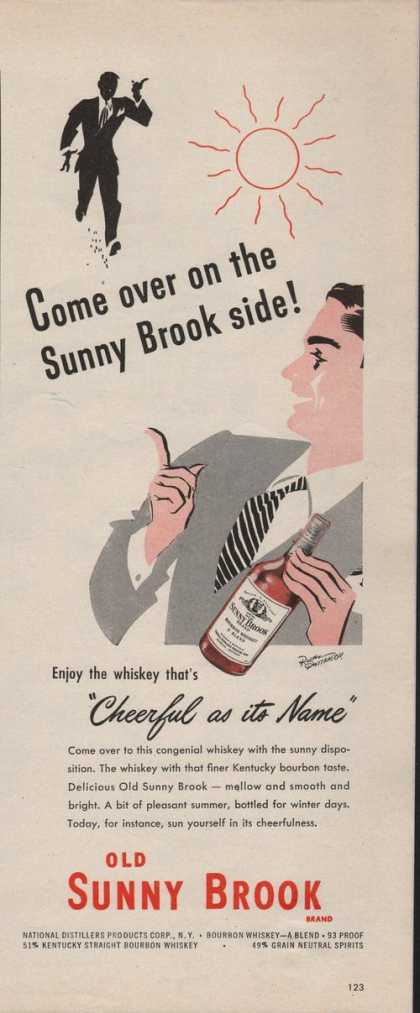 Old Sunny Brook Whiskey Cheerful (1942)