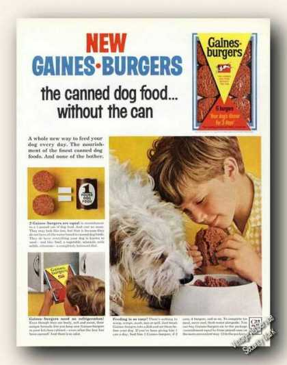 New Gaines-burgers Old English Sheepdog (1965)
