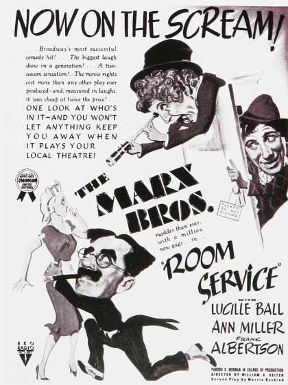 The Marx Brother's Room Service