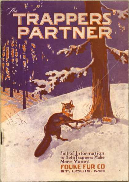 Fouke Fur Co.'s traps and other hunting tools – The Trappers' Partner (1921)