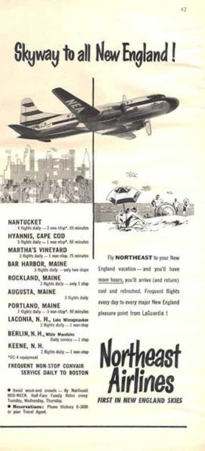 Northeast Airlines New England Skies (1952)