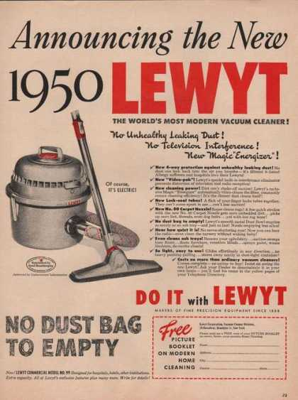 Do It With Lewyt Vacuum Clean (1949)