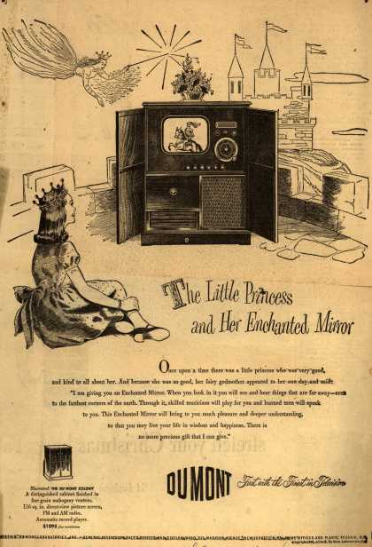 Allen B. DuMont Laboratorie's various – The Little Princess and Her Enchanted Mirror (1948)