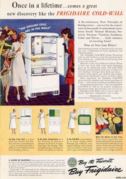 General Motor's Frigidaire Cold Wall (1940)