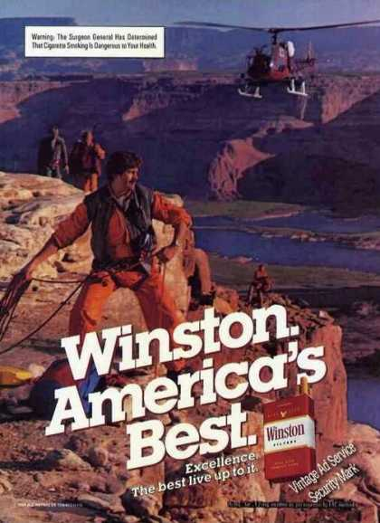 Winston Rock Climber Canyon Helicopter (1985)
