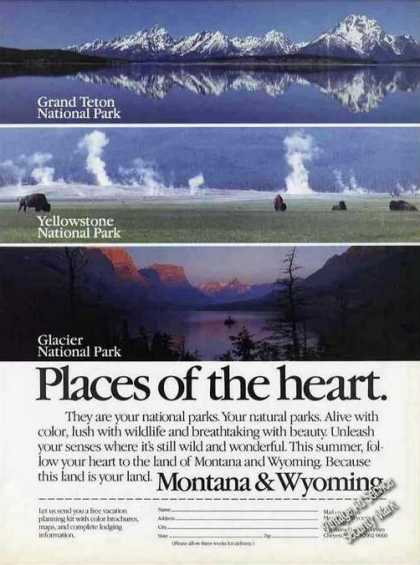 Montana & Wyoming Place of the Heart Travel (1991)