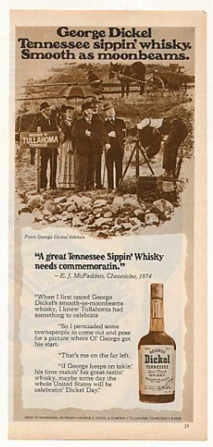 George Dickel Whisky 1874 Tullahoma TN Picture (1978)