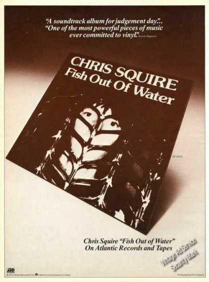 Chris Squire Fish Out of Water Album Promo (1976)