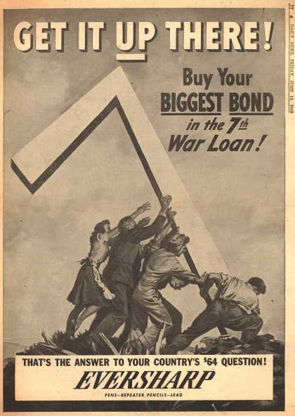 Eversharp's 7th War Loan – Get It Up There (1945)