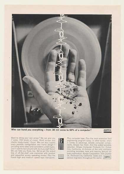 Ampex Computer Core Memory Hand You (1963)