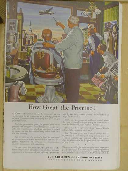 The Airlines of the United States. How great the promise (1941)