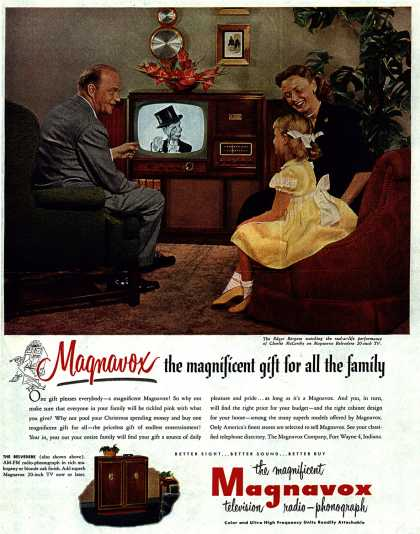 Magnavox Company's Television – Magnavox the magnificent gift for all the family (1951)