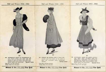 Stewart & Co.'s women's suits – Fall and Winter ...