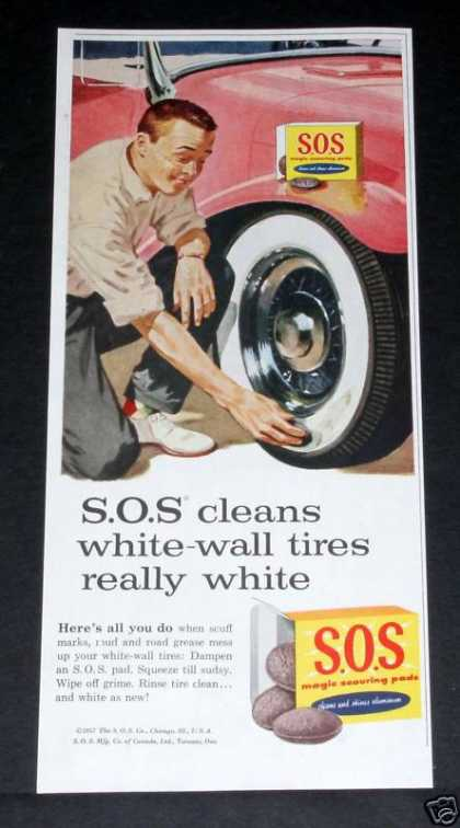 S.o.s. Scouring Pads, Tires (1957)