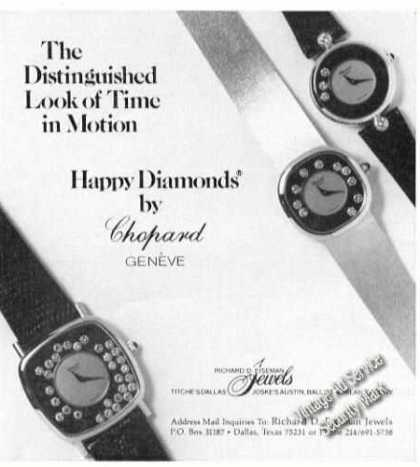Chopard Geneve Watches Advertising (1978)