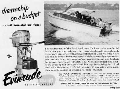 Evinrude's Evrinrude Outboards (1954)