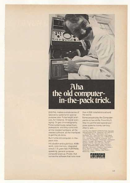 Digital Computer Computerpack Lab Systems (1969)