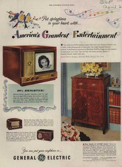 General Electric Company's Various – America's Grandest Entertainment (1949)