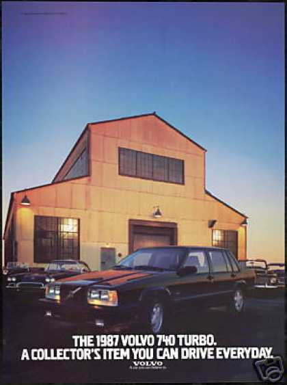 Volvo 740 Turbo Collectors Car Your Drive (1987)